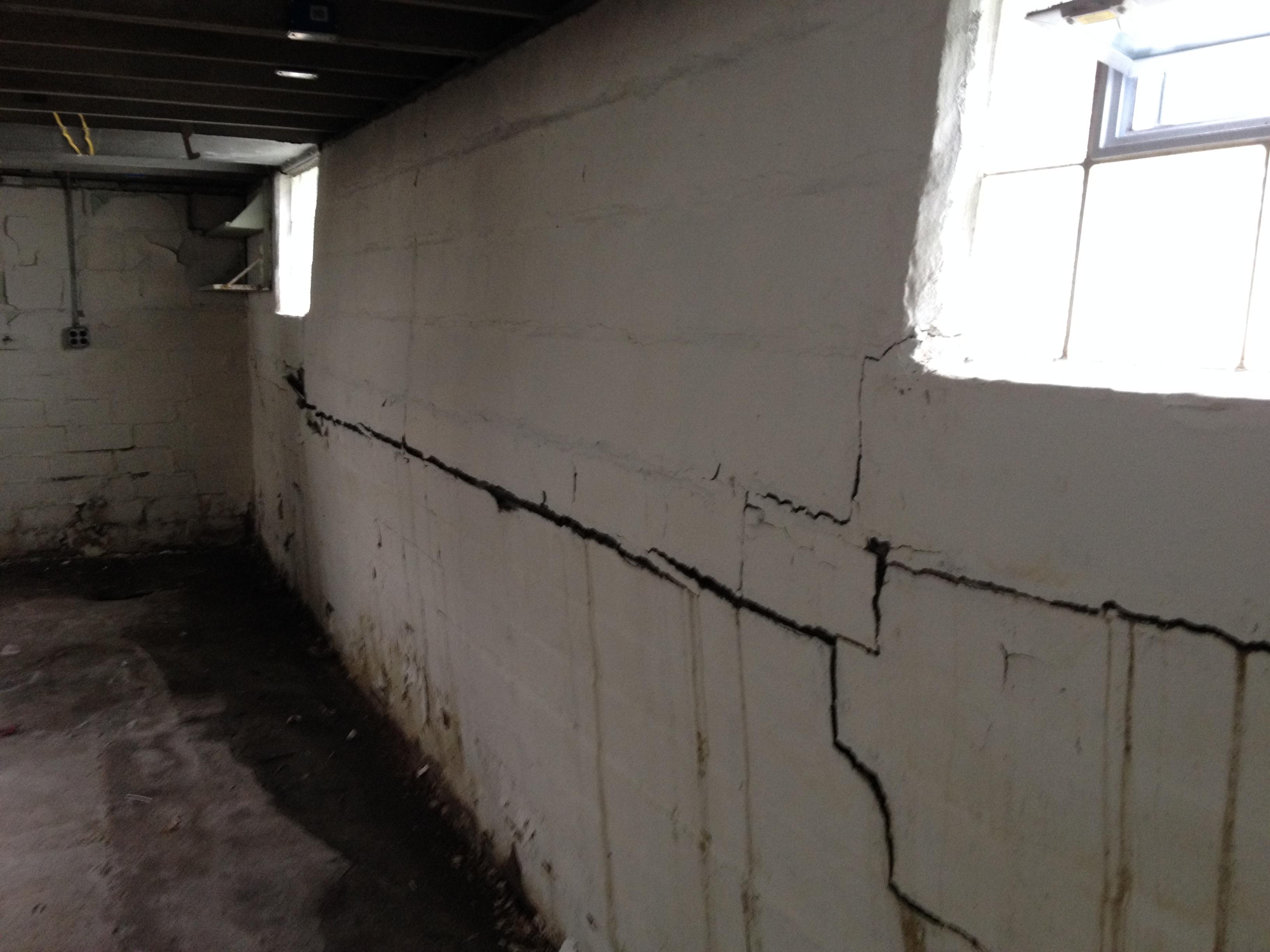 bowed walls
